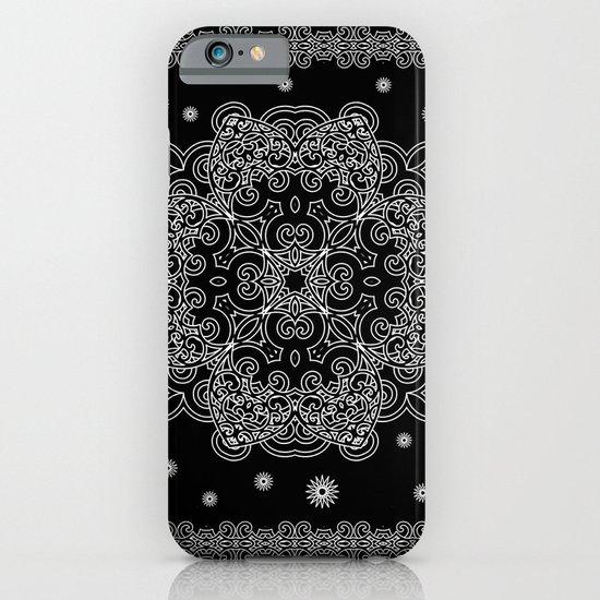 Elegant Black and White Mandala Case iPhone & iPod Case