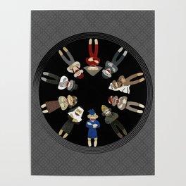 Sock Monkeys of the World Poster
