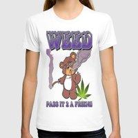 cannabis T-shirts featuring TIMOTHY THE CANNABIS BEAR  by Timmy Ghee CBP