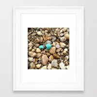 egg Framed Art Prints featuring Egg by Mylittleradical