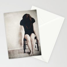 chair series no.1 Stationery Cards