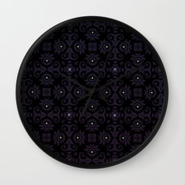 Pisces Pissed - Plum - Fall 2018 Wall Clock