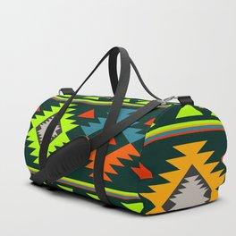 Geometric Navajo Duffle Bag