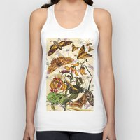 insect Tank Tops featuring Insect Life by Thomas Terceira
