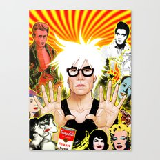 Icon (Warhol) Canvas Print