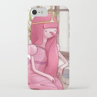 princess bubblegum iPhone & iPod Cases featuring Princess bubblegum by Sheharzad