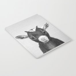 Baby Goat - Black & White Notebook