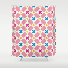 Holand Flower Garden Pattern Shower Curtain