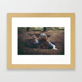 Eeaaarrgh! Framed Art Print