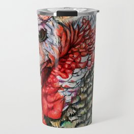 Turkey Portrait Travel Mug