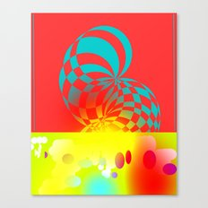 Twisted Invert Canvas Print