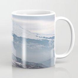 The majesty of Etna volcano Coffee Mug