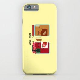 PB & J - High Five iPhone Case