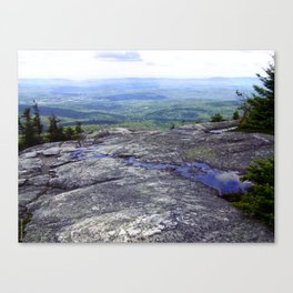 Reflection Point Canvas Print