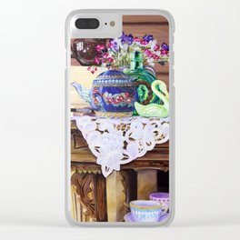 Cello Still Life Clear iPhone Case
