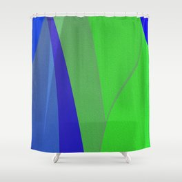 Organic Abstract No. 4 Shower Curtain