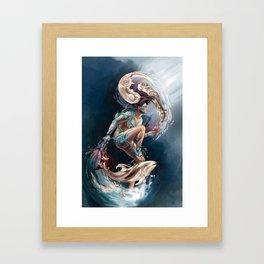 Sedna: Inuit Goddess of the Sea Framed Art Print