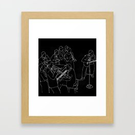 Duke Ellington jazz band Framed Art Print