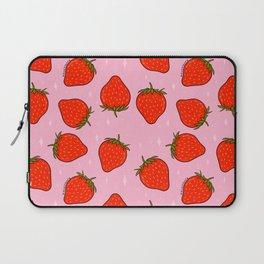 Strawberry Print Laptop Sleeve