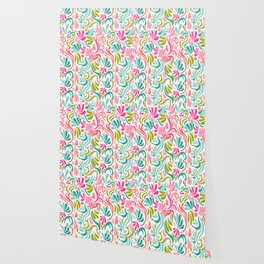 Fun colorful abstract doodles Wallpaper