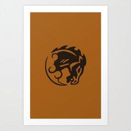 Bioshock Infinite Vigors - Bucking Bronco Art Print