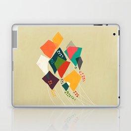 Whimsical kites Laptop & iPad Skin