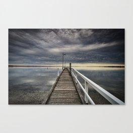 Moody skies Canvas Print