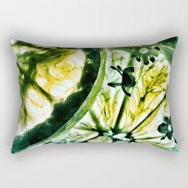 Lemon and Lime Rectangular Pillow