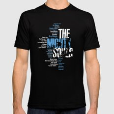 The Mighty Souls: Jazz Legends MEDIUM Black Mens Fitted Tee