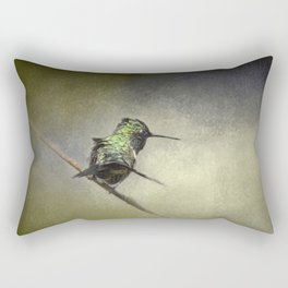 Feeling Frisky - Hummingbird Rectangular Pillow