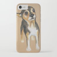 chihuahua iPhone & iPod Cases featuring Chihuahua by PaperTigress