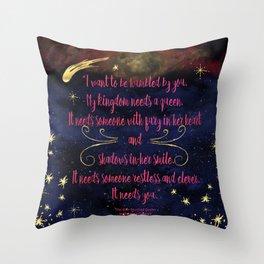 It Needs You Throw Pillow