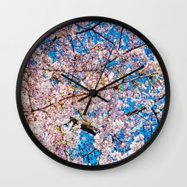 Cherry Blossom II Wall Clock