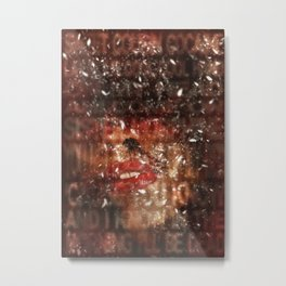 Addiction is the new Religion #3 Let it snow Metal Print