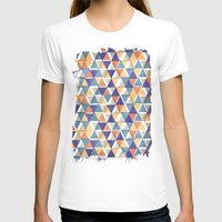 triangles T-shirts featuring TRIANGLES by Kiley Victoria