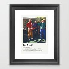 La La Land- I Ran Framed Art Print