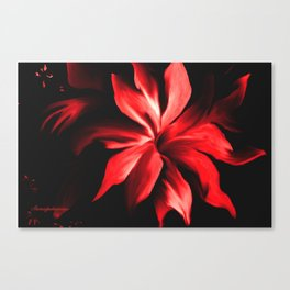 RED HOT BABY!! Canvas Print