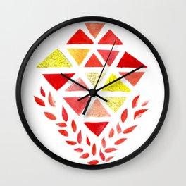 Geometric Dreams Wall Clock
