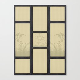 Tatami - Bamboo Canvas Print