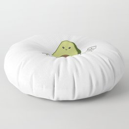 Lets Get Smashed! - Avocado Floor Pillow