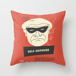 Self-Defense Throw Pillow