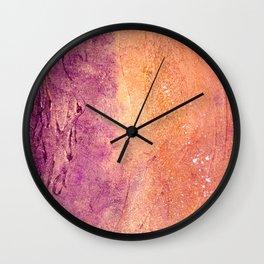 Golden Soul Wall Clock