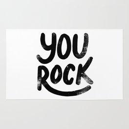 You Rock B&W Rug