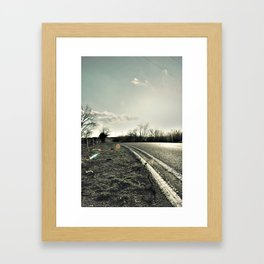 Road to Cele Framed Art Print