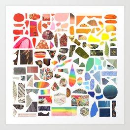 Paper Rainbow Art Print