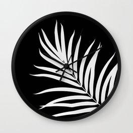Tropical Palm Leaf #2 #botanical #decor #art #society6 Wall Clock