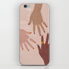 Love Is A Superpower iPhone Skin