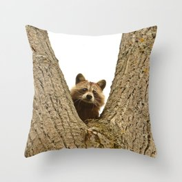 Slingshot Candidate Throw Pillow