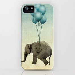 Levitating Elephant iPhone Case