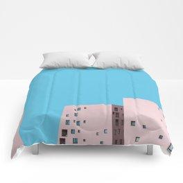 Millennial Pink City Comforters